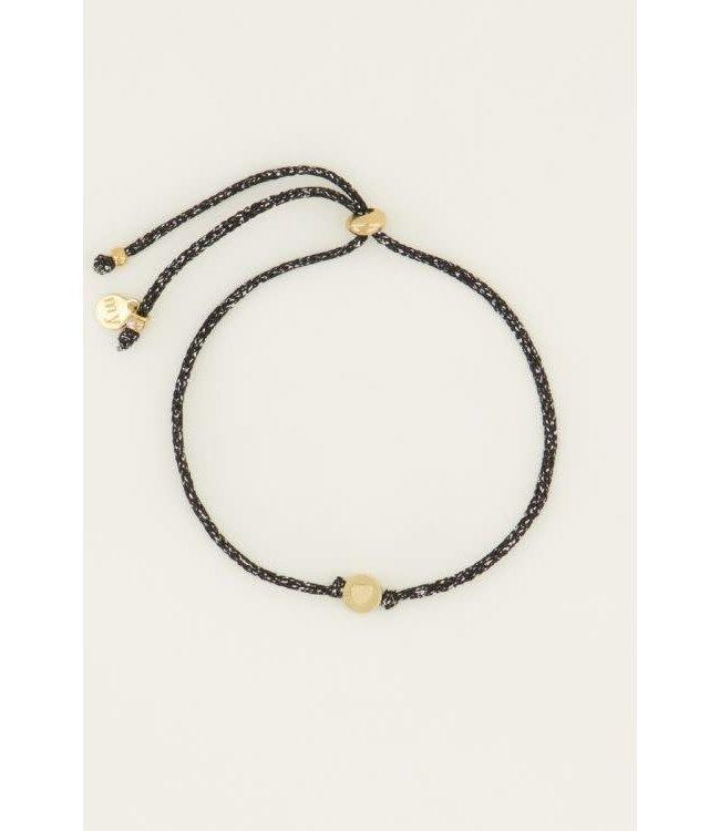 Armband touw hartje -  MJ045001200