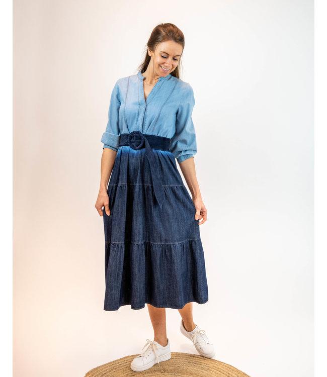 Amelie & Amelie - Lang kleedje Dye - Los Angeles 07-21