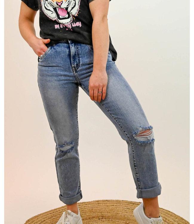 Toxik - Mom Jeans Destroyed - L20069-1