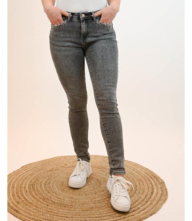 Toxik - Jeans Strass - G20606