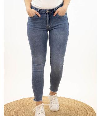 Jeans rafeldetail - 7024