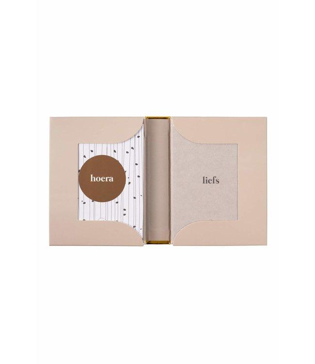 Zusss - Box Met 12 Wenskaarten Wit