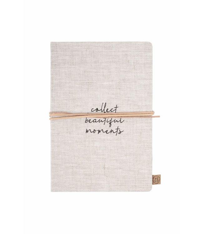 Zusss - Notitieboek Collect Moments Linnen