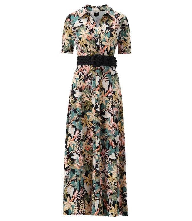 K Design - Maxi jurk met riem - S107