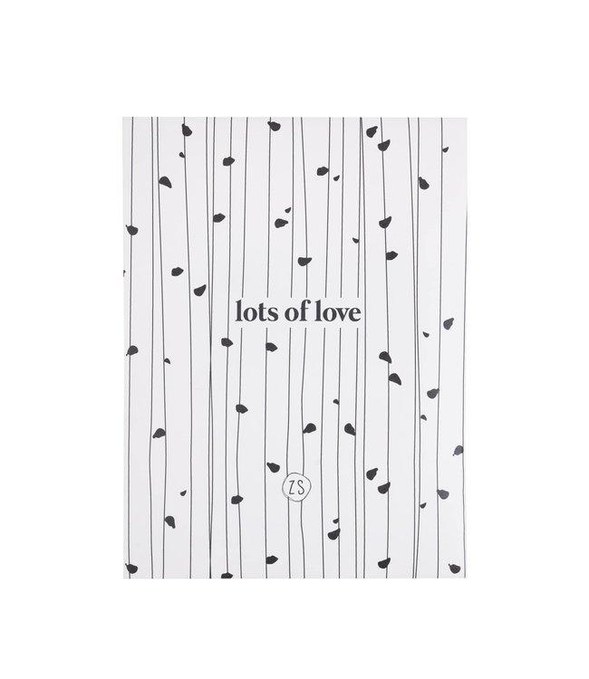 Zusss - Geurzakje Wilde Bloem Lots Of Love Wit
