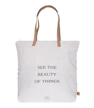 "Zusss - Hippe boodschappentas ""Beauty of things"""