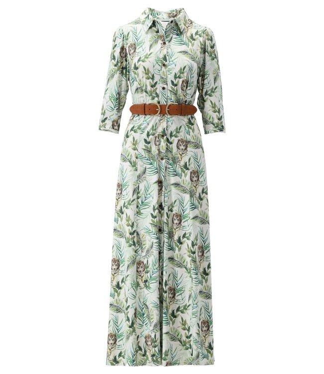 Maxi jurk met print - S856