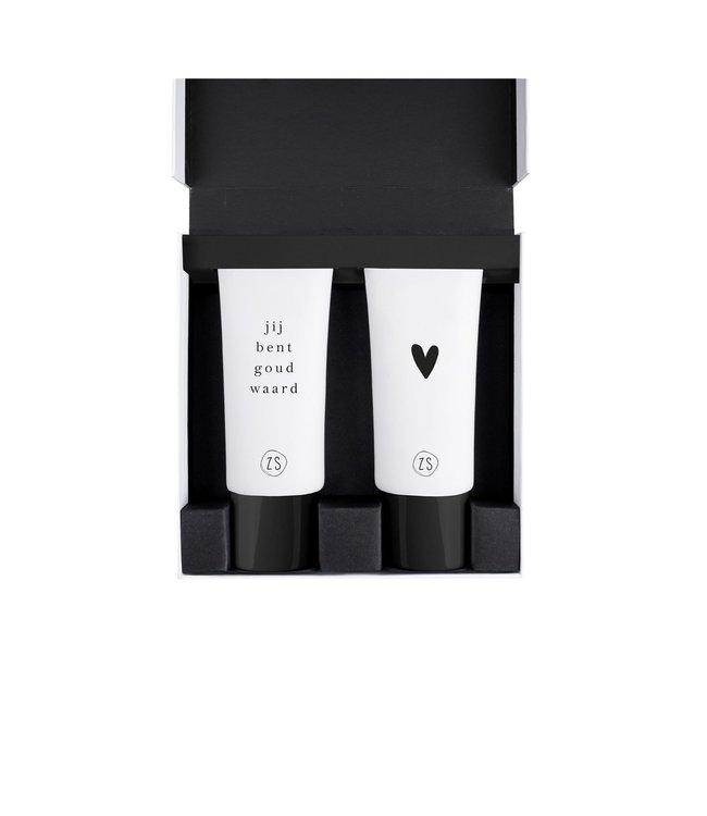 Zusss - Giftbox Met Douchegel En Lotion Hartje