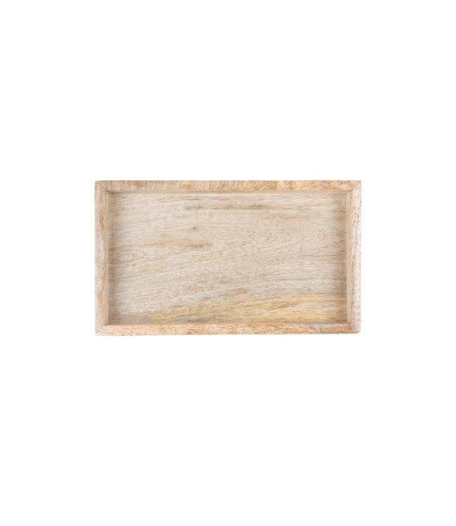 Zusss - houten dienblad 19,5x2,5x11cm