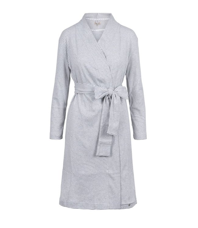 Zusss - Zusss - badjas met streep wit