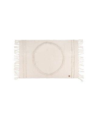 Zusss - vloerkleed cirkel 92x59cm