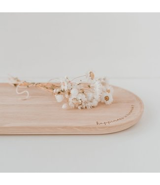 Eulenschnitt Houten plank - Happiness
