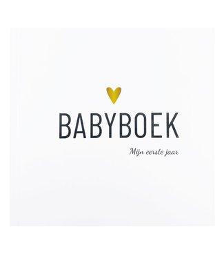 Lifestyle2Love Babyboek - Mijn eerste jaar - Hart