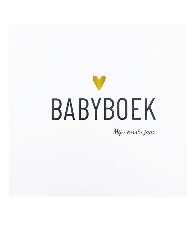 Babyboek - Mijn eerste jaar - Hart