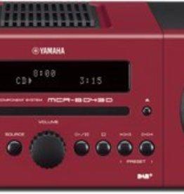 Yamaha MCR-B043D (rood) (OUTLET)