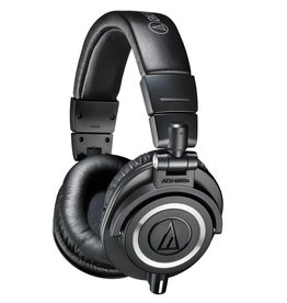 Audio-Technica ATH-M50x (zwart) (OUTLET)