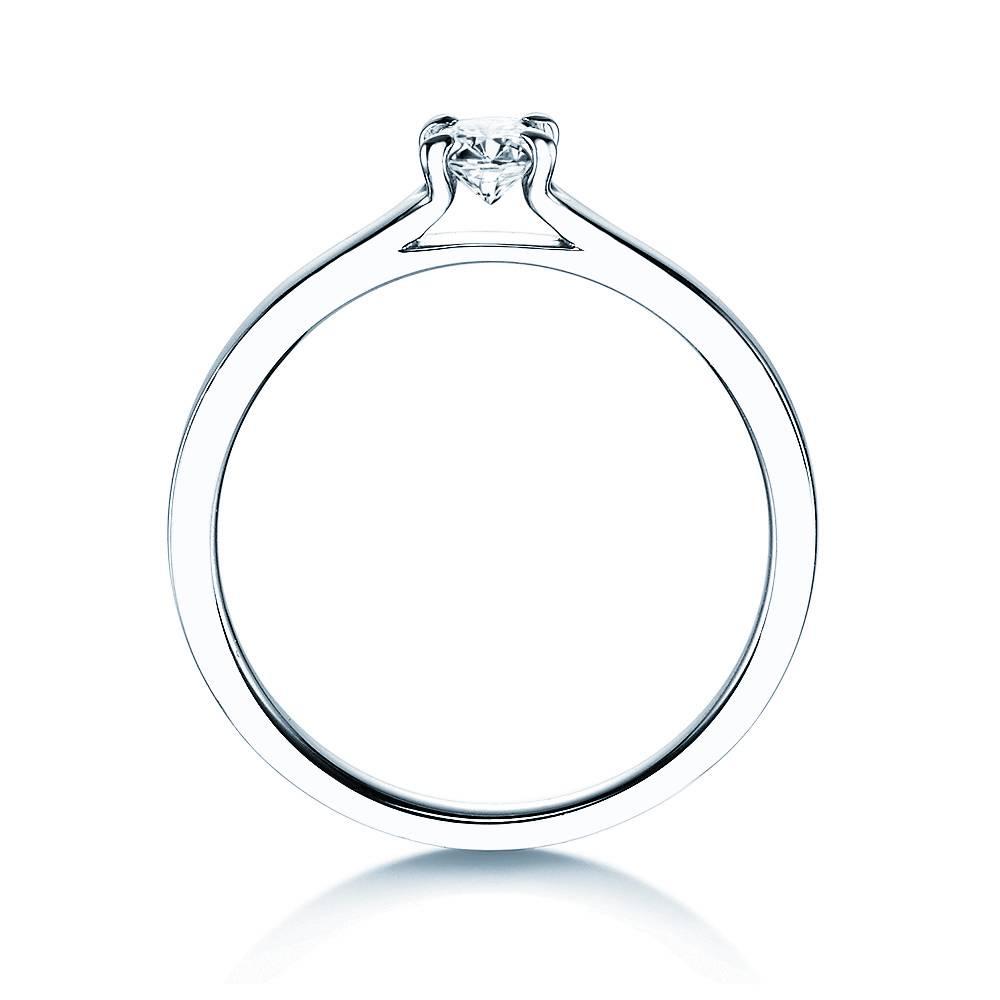 Verlobungsring Modern Silber