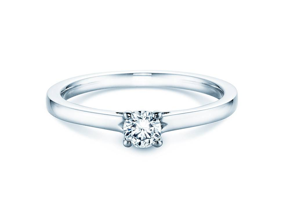 Verlobungsring Romance Silber