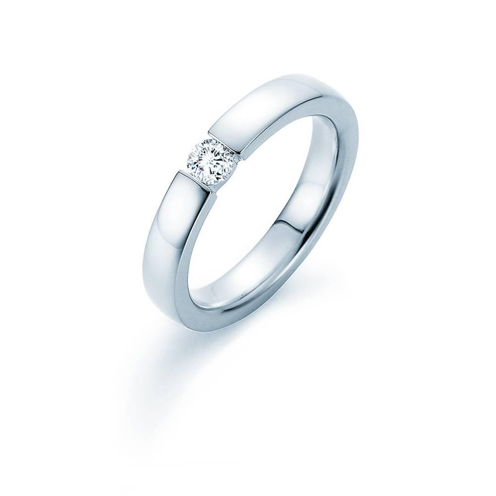 Verlobungsring Infinity Silber