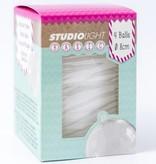 Studiolight WHITE BALLS 12 CM WITH HOLE FOR LED LIGHT
