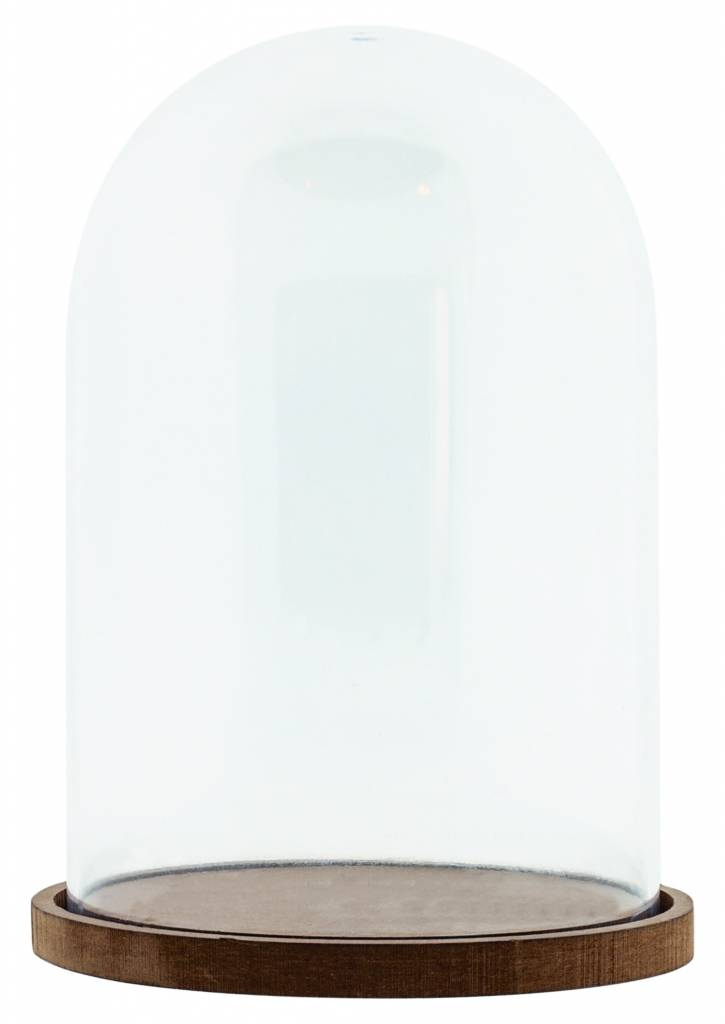 Studiolight PLASTIC DOME WITH MDF BASEPLATE Ø 11 CM 15,5 CM HIGH