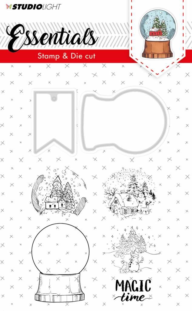 Studiolight Stamp & Die Cut (1) A6 Essentials nr.18