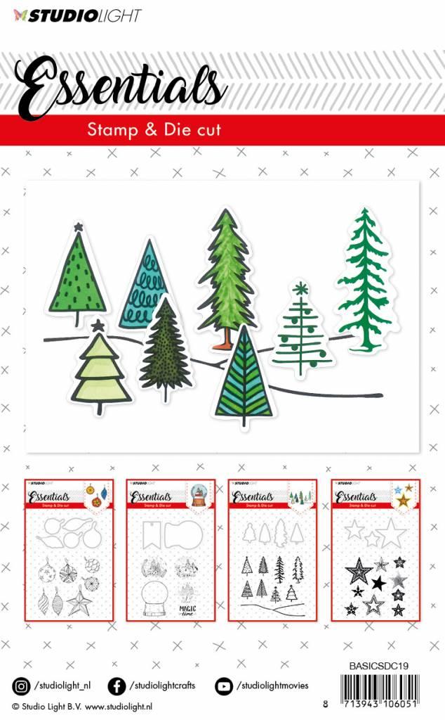 Studiolight Stamp & Die Cut (1) A6 Essentials nr.19