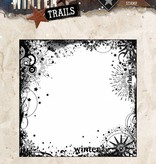 Studiolight Stamp (1) 14x14 Background Winter Trails, nr. 305