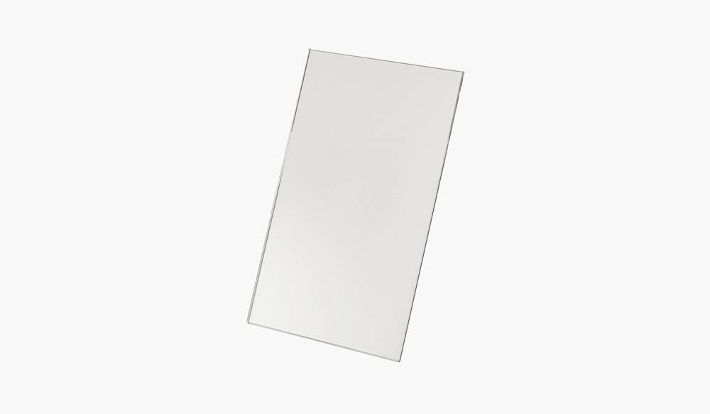 FIGR1 REFLECTOR RECTANGLE - BLANC