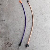 heater control set cables 1608186180 peugeot 208