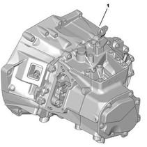 Gearbox peugeot 208 HDI 115 (DV6C) (2231X2) gearbox code 20EA30