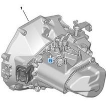 versnellingsbak 20CR03 peugeot 208 1.2 (9803846280)