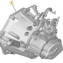 versnellingsbak 20dp77 peugeot 208 1.6 diesel (2231Q2)