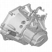 versnellingsbak 20DM7E peugeot 307 1.6 HDi 92 (2222LL)