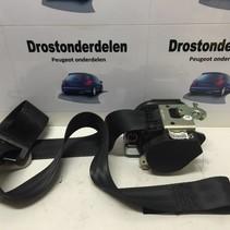 Seatbelt Right-Front 96498052XX Peugeot 207 3DRS (8975AZ)