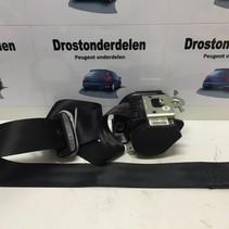 Seat Belt Left-Front 96498053XX Peugeot 207 3DRS