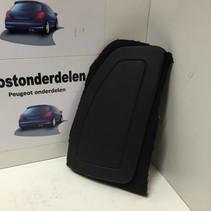 stoel airbag  links 96546687ZD peugeot 207  (8216NE) zwart