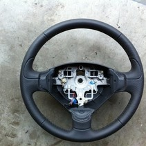 leather steering wheel peugeot 207