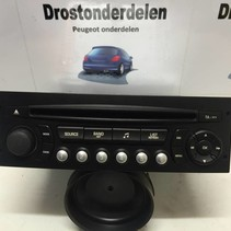 RADIO CD SPELER 96639793XT  PEUGEOT 207 RD4 (6564ZS)