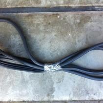 deur rubber rechts achter peugeot 207 sw (902571)