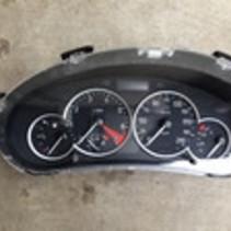 Tachometer 9656696680 Peugeot 206, 6106 LV,