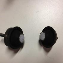 motorsteun rubbers  peugeot 206 (1844A1)(1844A2)