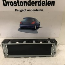 Bordcomputer Zeigt 9675859580 Peugeot 207 (6593H7) an