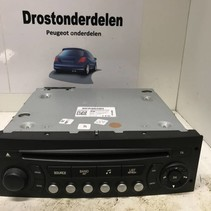 RADIO CD PLAYER 96784950XT PEUGEOT 207 USB CABLE TO BE CONNECTED