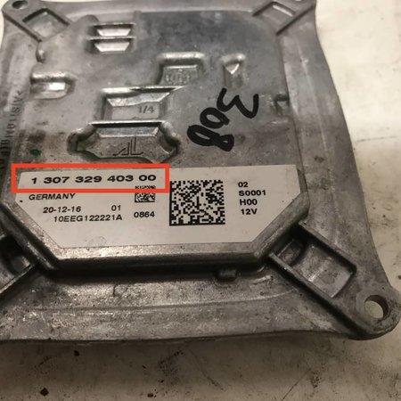 Xenon Module Full led headlight for Peugeot 308 T9 130732940300 (1610426980)