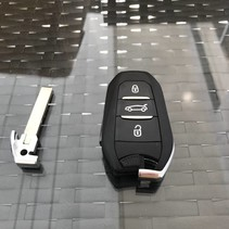 NEW keyless go key peugeot key with chip