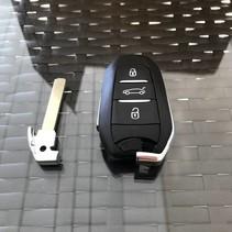 NIEUW keyless go key  citroen key met chip