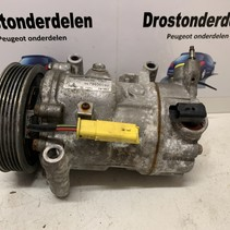 Air conditioning pump 9678656080 peugeot 207 model number 1367F sanden SD6C12