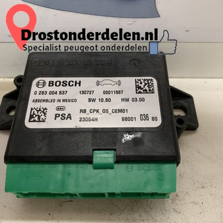 PDC module front and rear 9800103680 peugeot 208