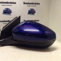Peugeot 3008 Wing mirrors left blind spot monitoring foldable color bleu magnetic